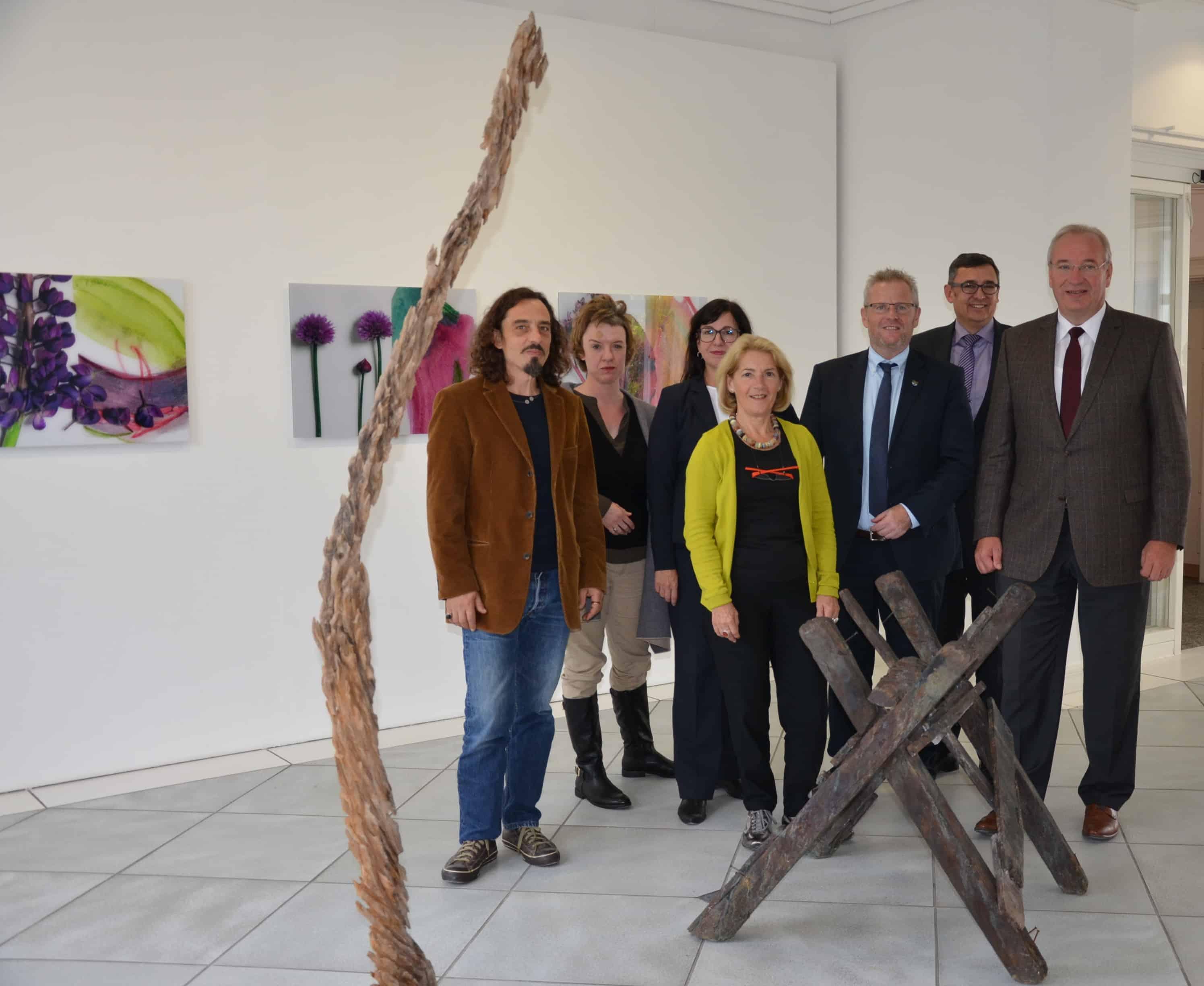 Fünf neue Werke für die Kunstsammlung Bezirk Oberpfalz