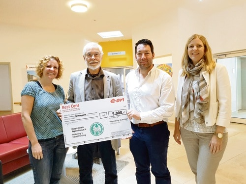 E.ON-Mitarbeiter/innen unterstützen Hospiz-Verein Regensburg