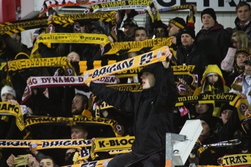 Polizei: Jahn Regensburg gegen Dynamo Dresden ist ein Spiel mit hohem Sicherheitsrisiko