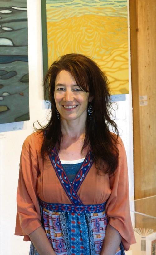 Asia Freeman in der PanAmericanArte Galerie