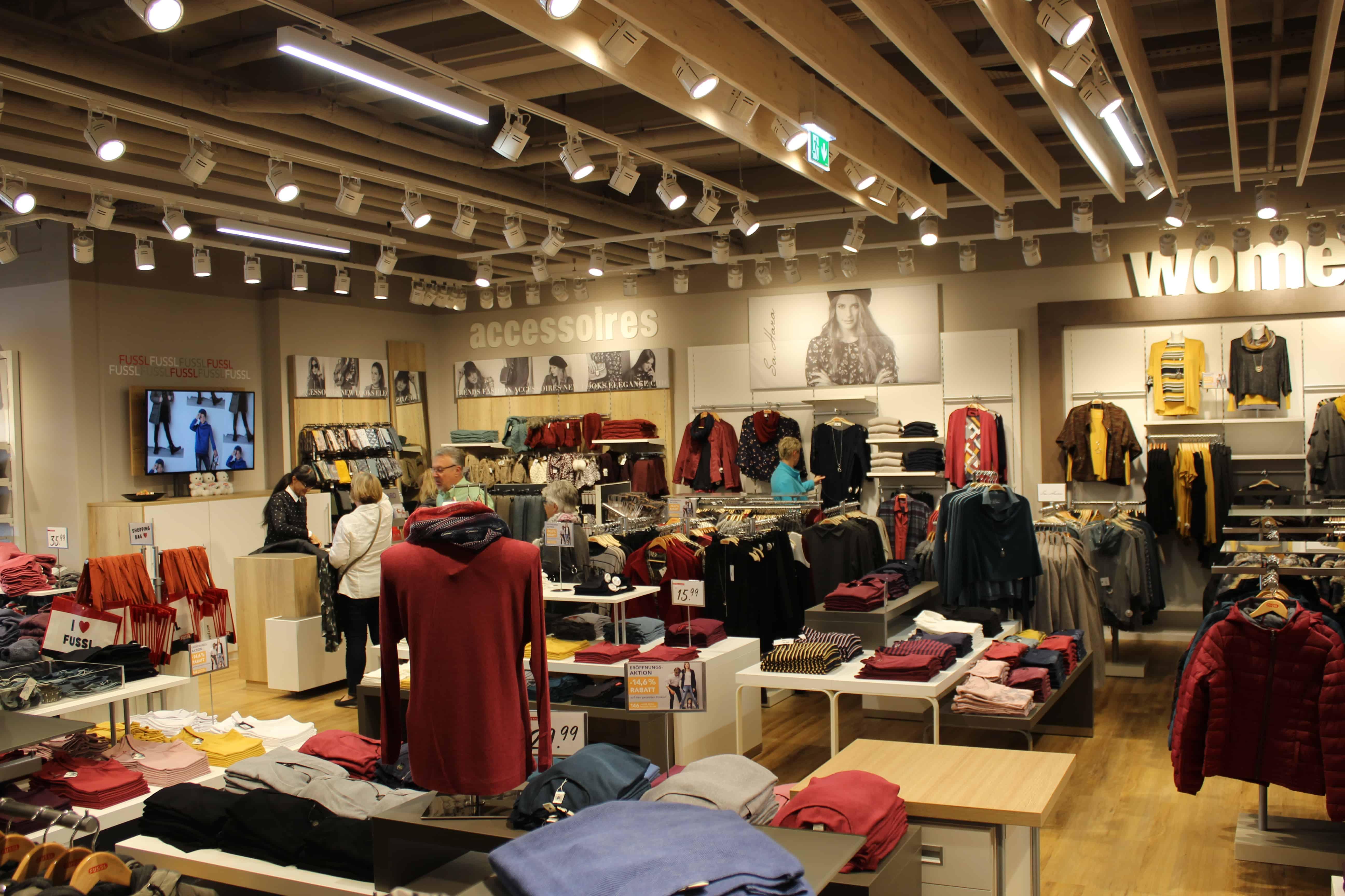 Fussl Modestraße jetzt auch im KÖWE-Einkaufszentrum