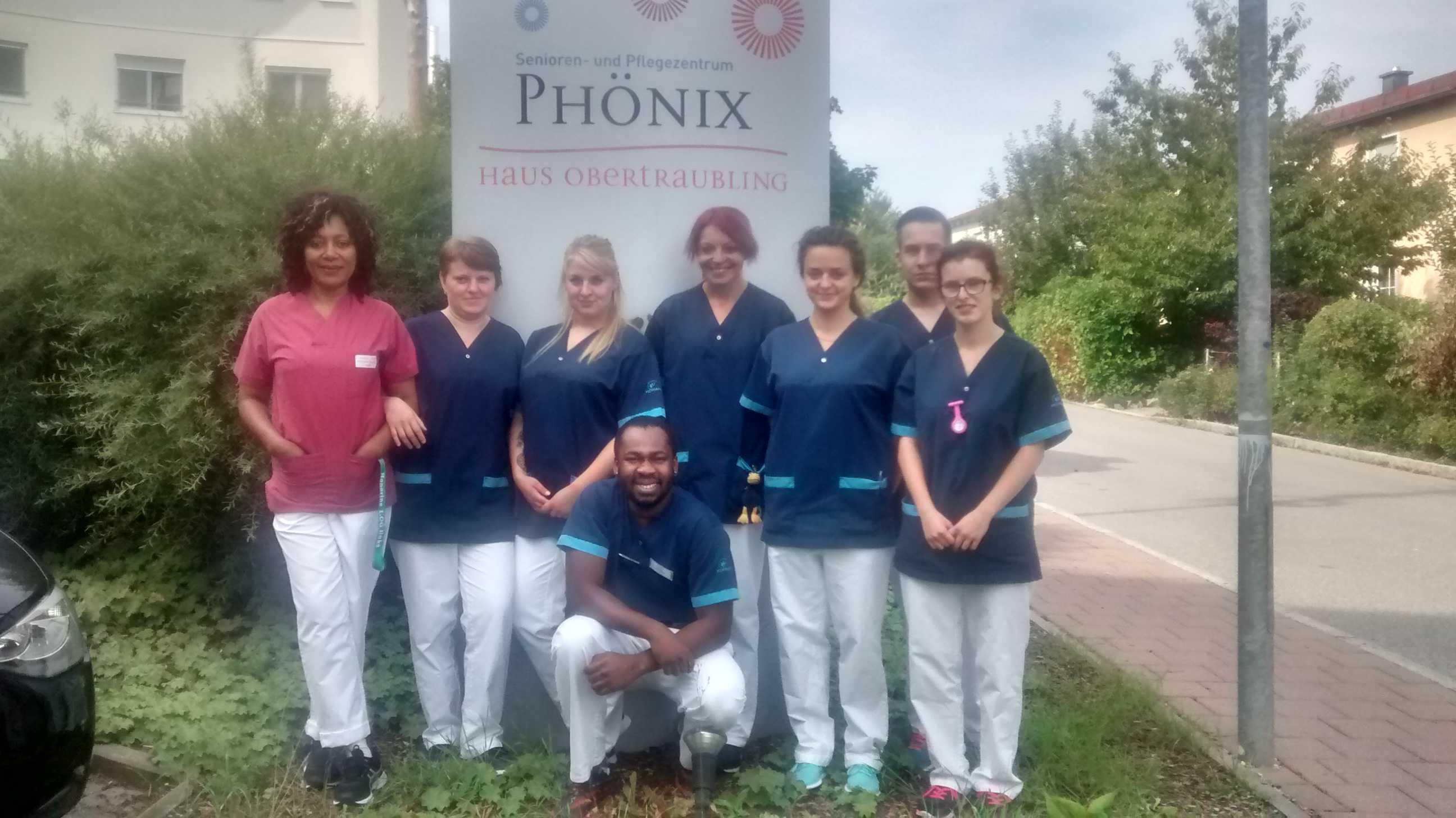 Neue Auszubildende im Phönix-Haus Obertraubling