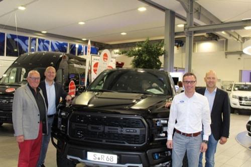 Regensburg: Dünnes informierte im ersten Ford Nutzfahrzeug Forum