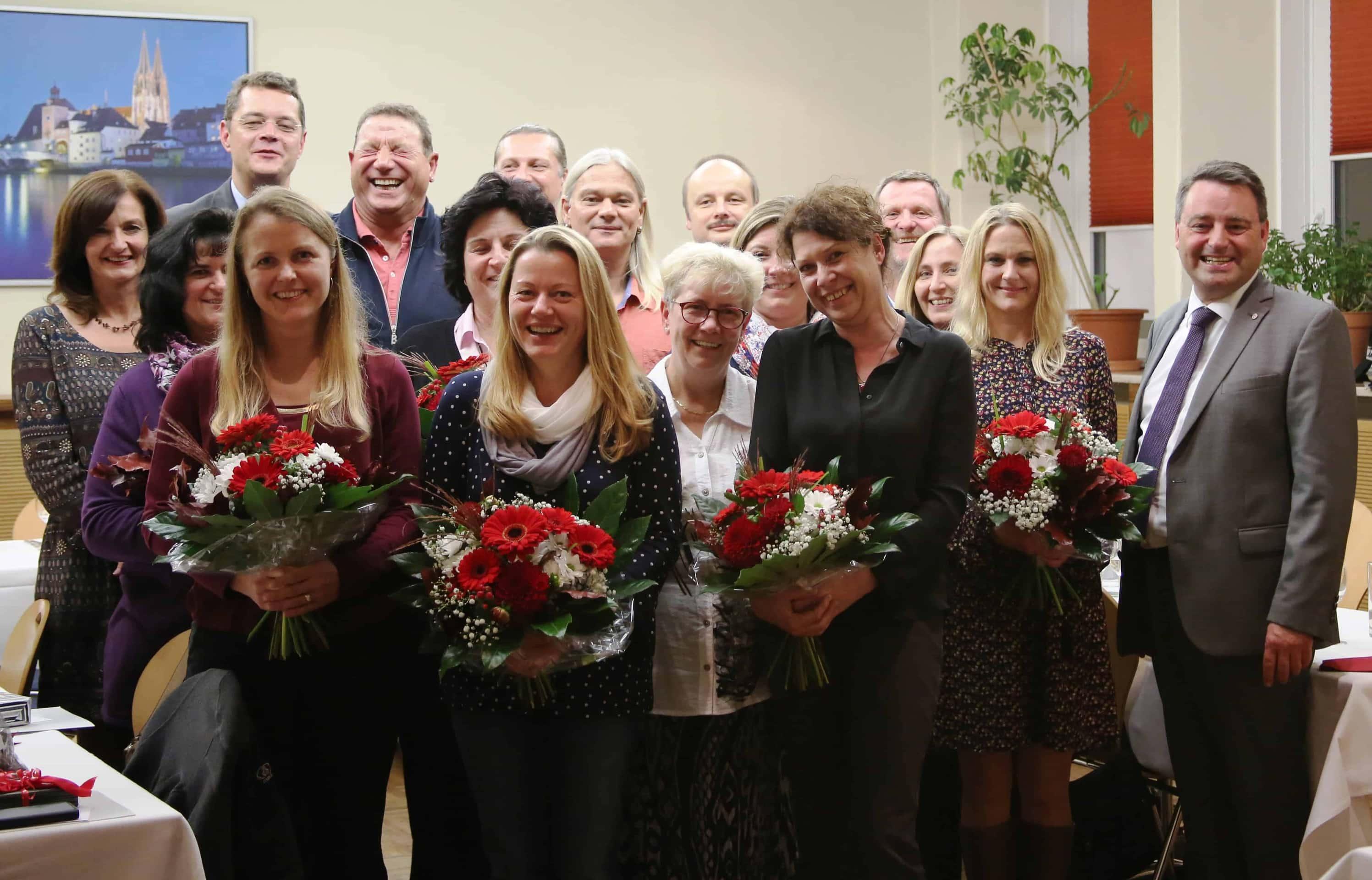 Johanniter-Regionalvorstände bedanken sich für die Treue