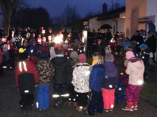 "St. Martinsfeier beim Johanniter ""Zauberwald"""