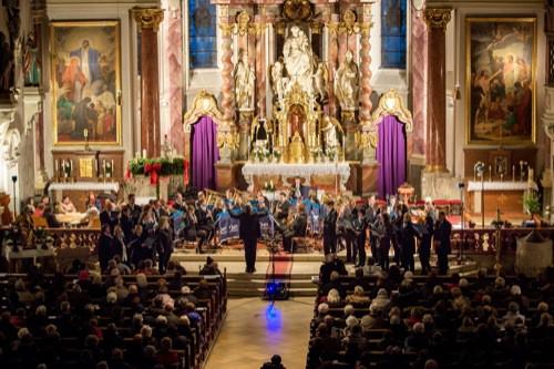 Regensburg: Konzert der Musikfabrik Reinhausen
