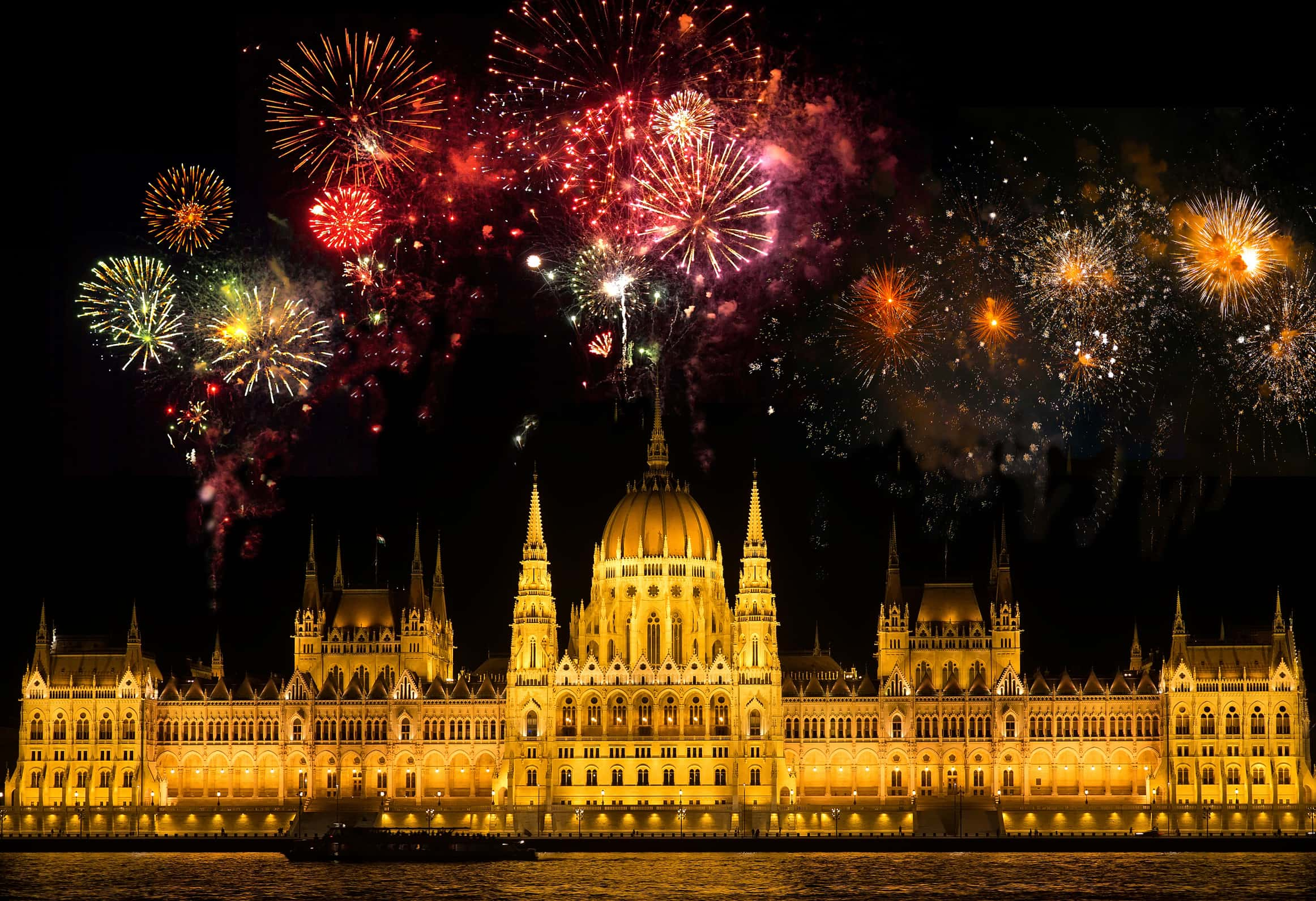 Feuriges Silvester in Budapest