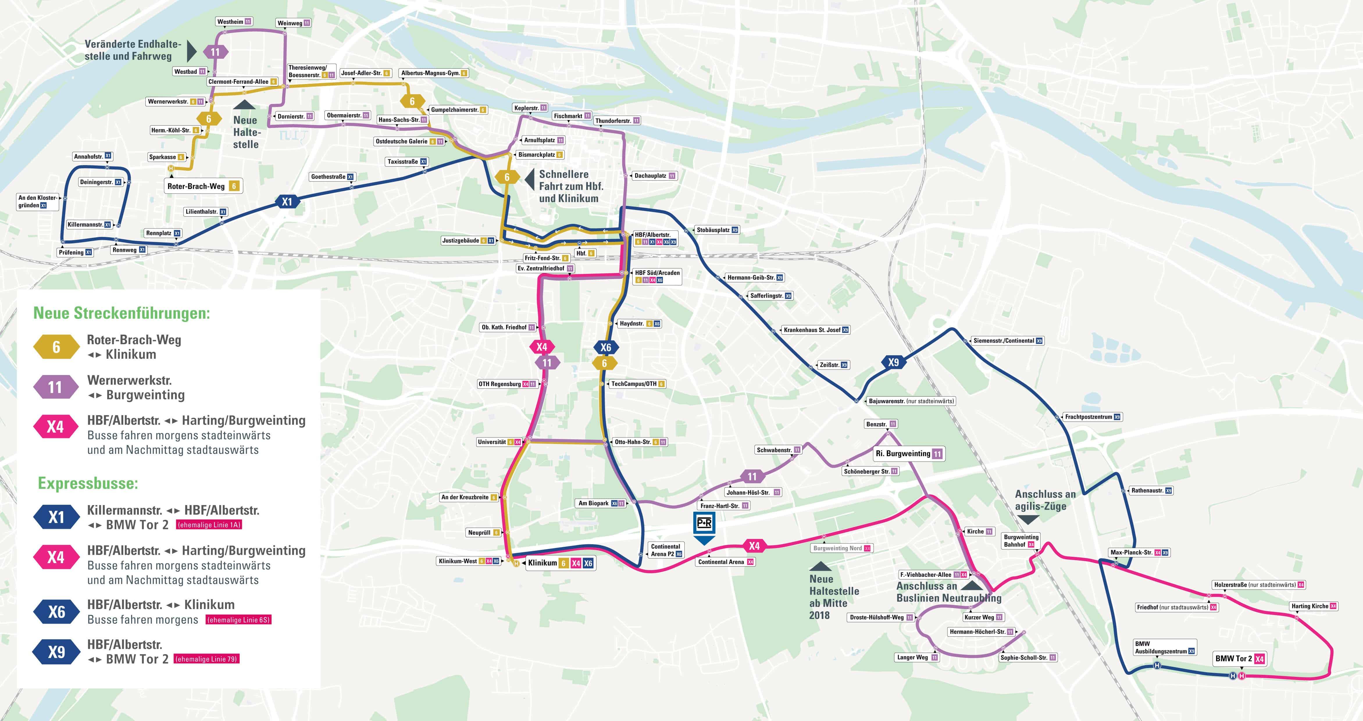 RVV-Linien: Das müssen Sie zu den wichtigsten Fahrplan-Änderungen wissen