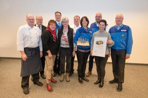 BMW Regensburg zeichnet Teams für Unfallfreiheit aus