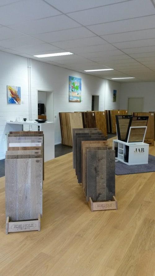 Bembé Parkett Studio im Regensburger Gewerbepark