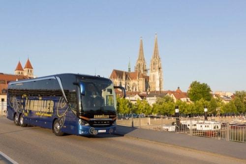 In den Urlaub mit den komfortablen Bussen von Sammüller Reisen