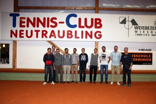 Tennisclub Neutraubling: Herren-Team schafft Aufstieg in die Landesliga