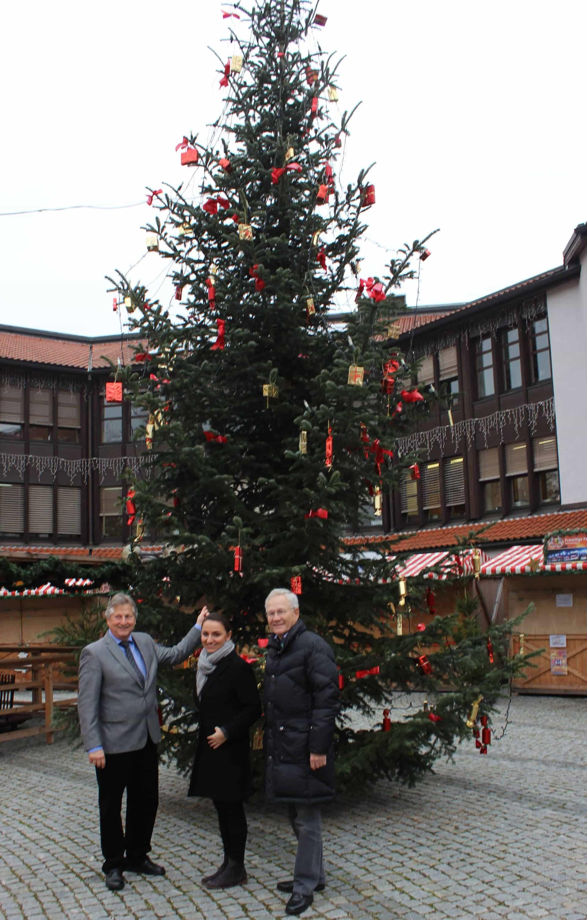 Wunderschöner  Weihnachtsbaum in Neutraubling