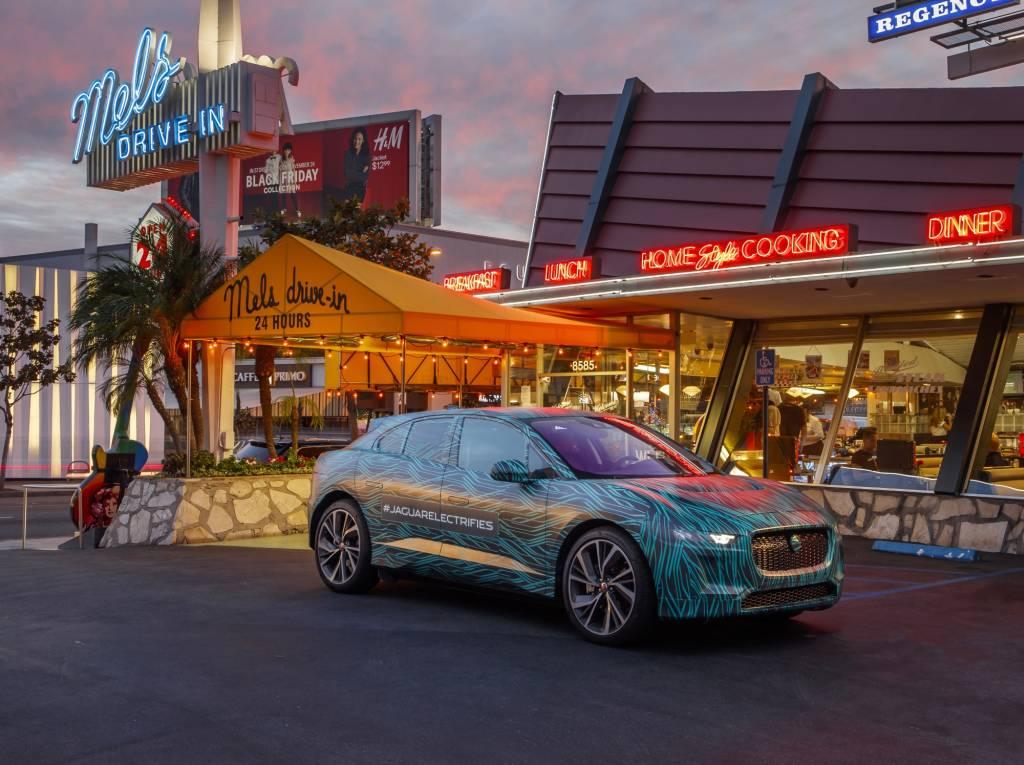 Jaguar I-Pace: Elektrofahrzeug bei finalen Testfahrten in Los Angeles