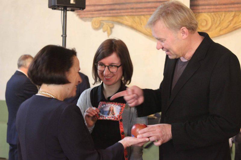 Defilee auf dem Neujahrsempfang der Stadt Regensburg