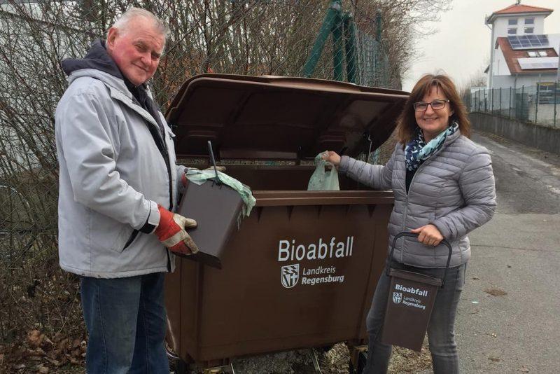 Neue Serviceangebote 2018 bei der Abfallwirtschaft im Landkreis Regensburg
