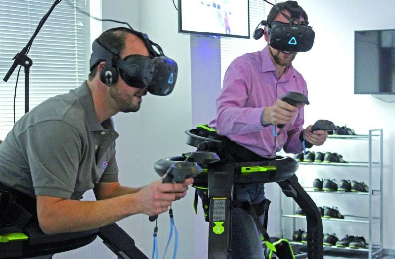 Virtual Reality Gaming im 3D-Funhouse in Neutraubling