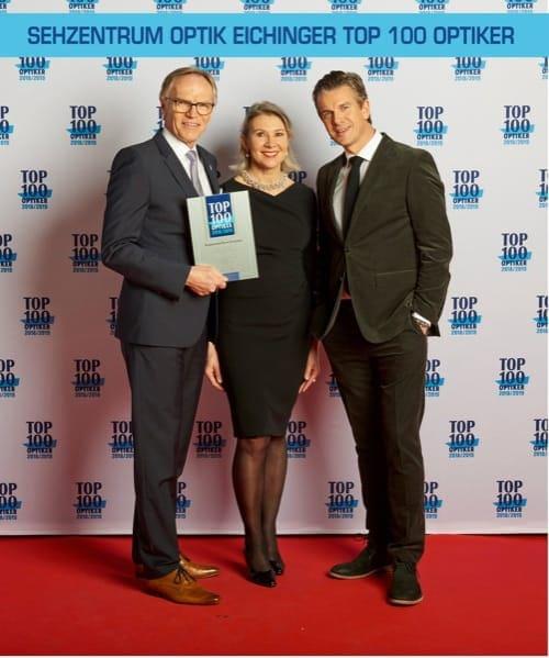 Große Ehre: Sehzentrum Optik Eichinger in Bad Abbach gehört jetzt zu den TOP 100 Optiker