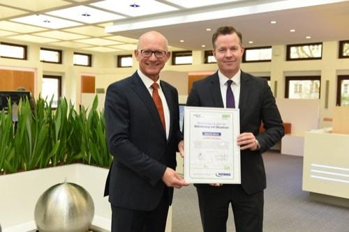 Regensburg: Rewag liefert Ökostrom an Sparda-Bank Ostbayern