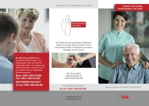 Prefessionell mit Herz: Ambulanter Pflegedienst ADL-Group in Regensburg
