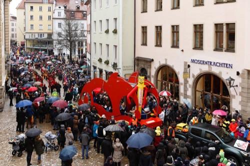 Am Sonntag, 4. Februar: Ostbayerischer Faschingszug schlängelt sich durch die Regensburger Altstadt
