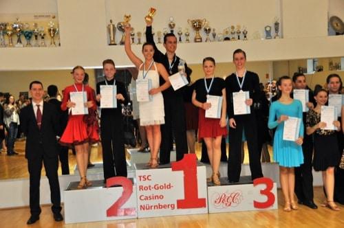 Tanzpaar der Regensburger Turnerschaft erfolgreich bei den Bayerischen Meisterschaften in Lateintanzen