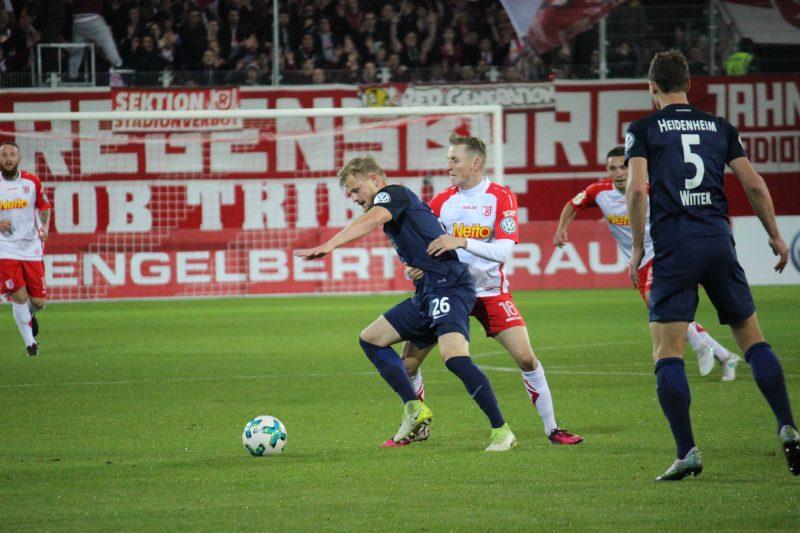 Jahn will am Samstag die Pokal-Pleite gegen Heidenheim wettmachen