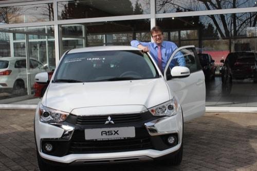 """Bei Auto Landsmann gibt's den Mitsubishi """"ASX Polar limited"""" für unter 19.000 Euro!"""