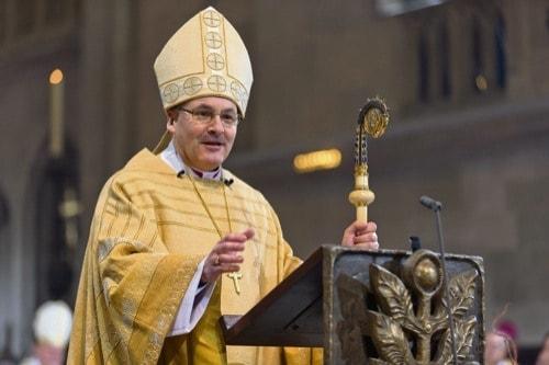Regensburgs Bischof Dr. Rudolf Voderholzer im Redaktionsgespräch