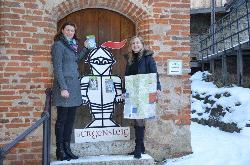 Neue Burgensteige-Wanderkarten vorgestellt