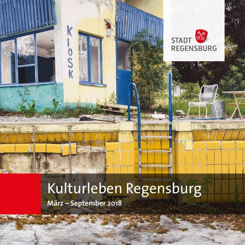 "Broschüre ""Kulturleben Regensburg März – September 2018"" ab sofort erhältlich"