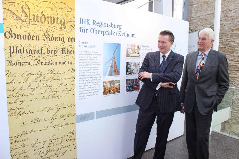 Seit 175 Jahren beeinflusst die Industrie- und Handelskammer die Wirtschaft in Ostbayern