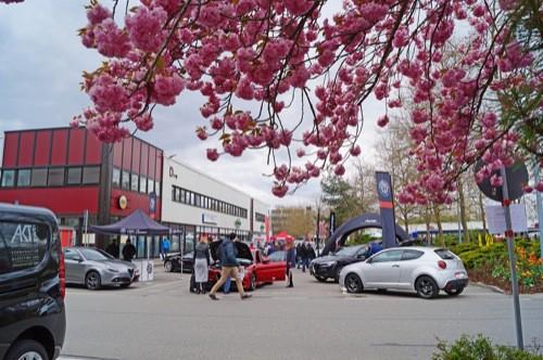 Autoschau im Gewerbepark Regensburg am 21. und 22. April