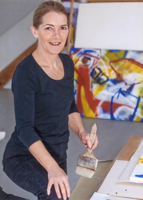 Regensburg: Ausstellung von Maria Maier im Caritas-Krankenhaus St. Josef