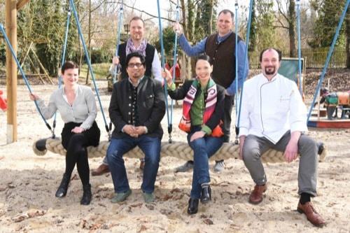Neue Pächter im Kneitinger Schlossgarten in Regensburg