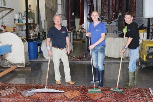 Die Experten: Exquisit Teppichwäscherei Schuhbießer im Gewerbepark Regensburg
