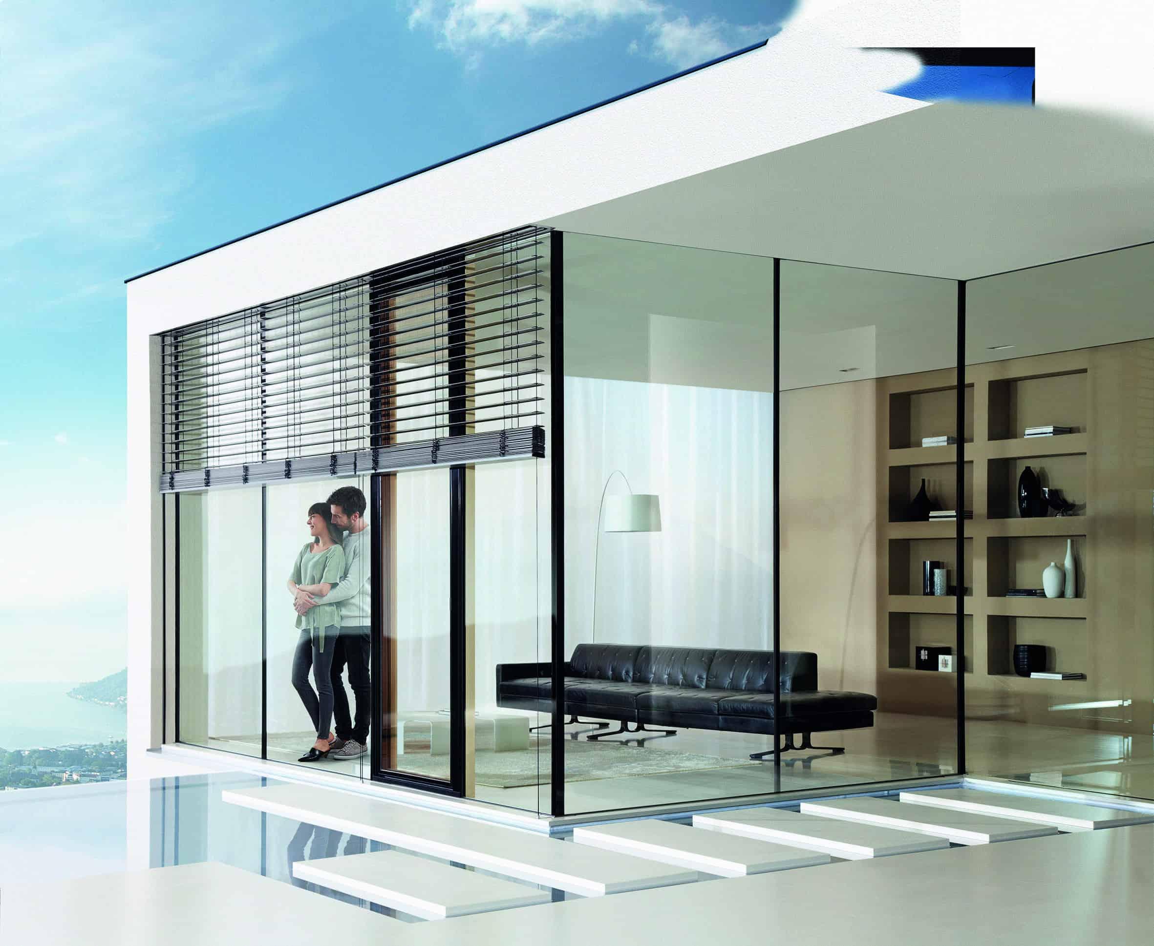 Eleganter und praktischer Sonnenschutz