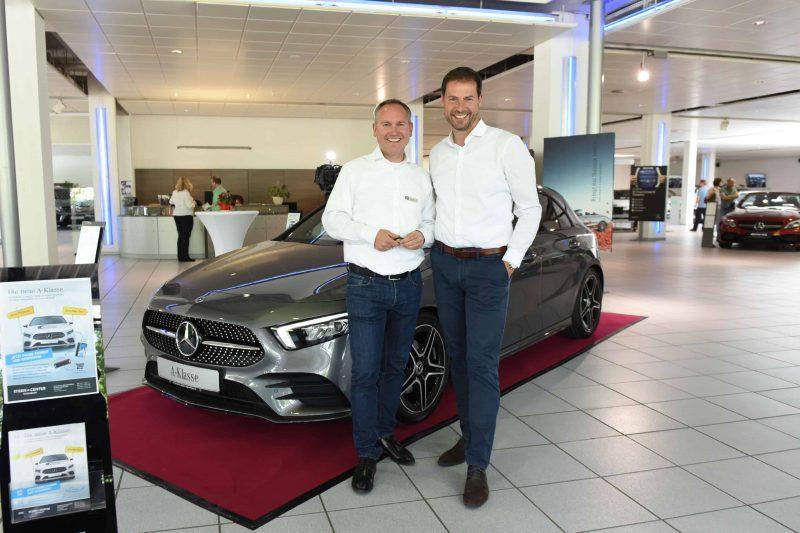 Mercedes A-Klasse vorgestellt