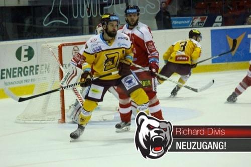 Eishockey: Richard Divis verstärkt die Eisbären Regensburg