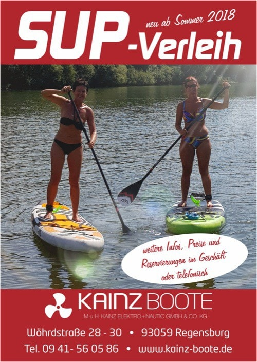 Kainz Boote Regensburg – Experte in Sachen Stand Up Paddling