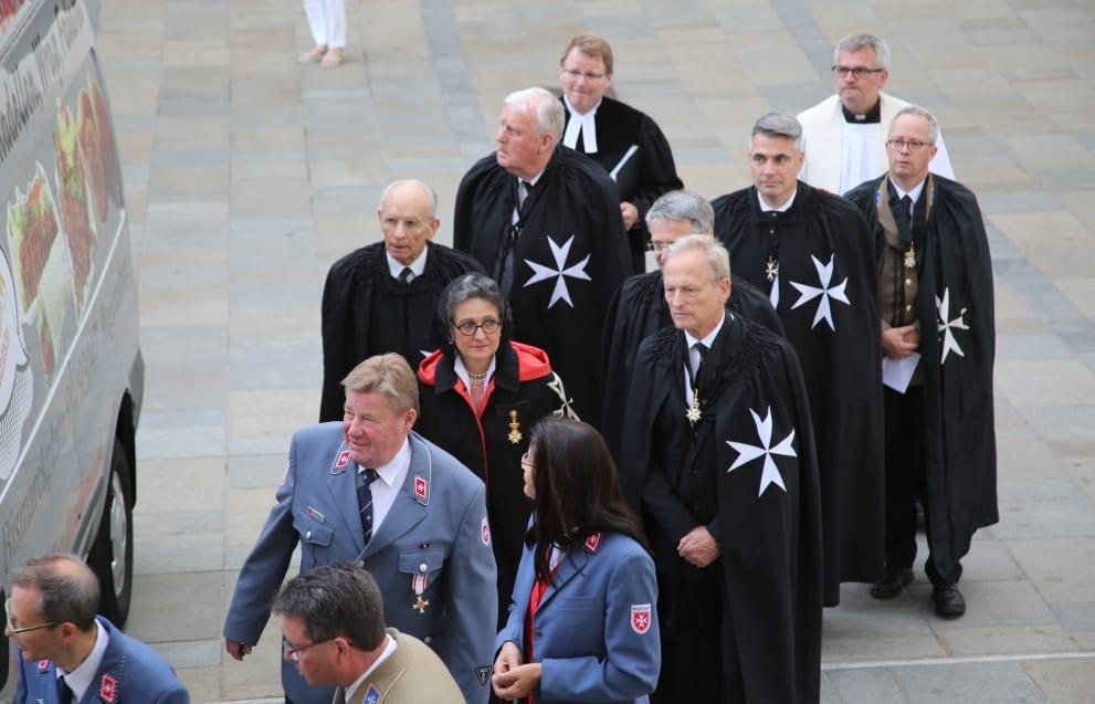 Johanniter und Malteser feiern ihre gemeinsame Geschichte