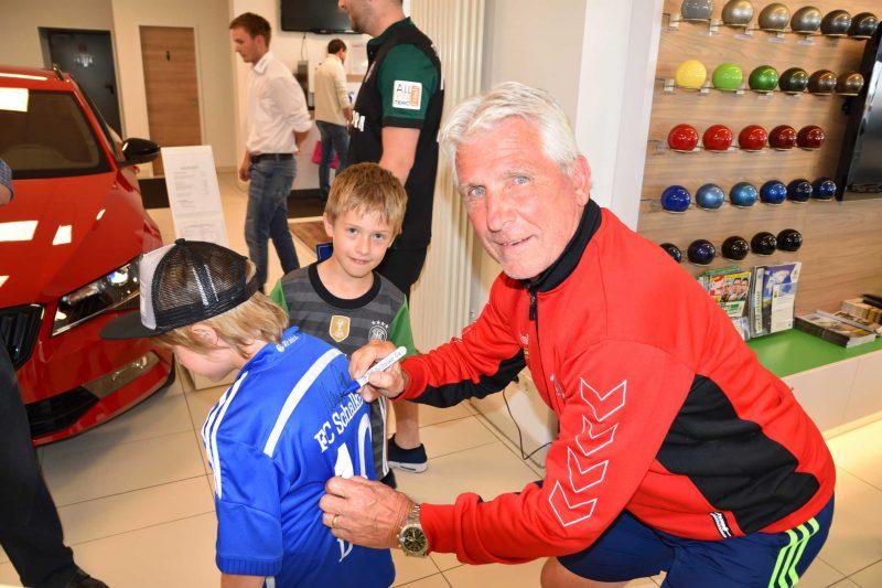 Auftakt: Klaus Fischer-Fußballschule