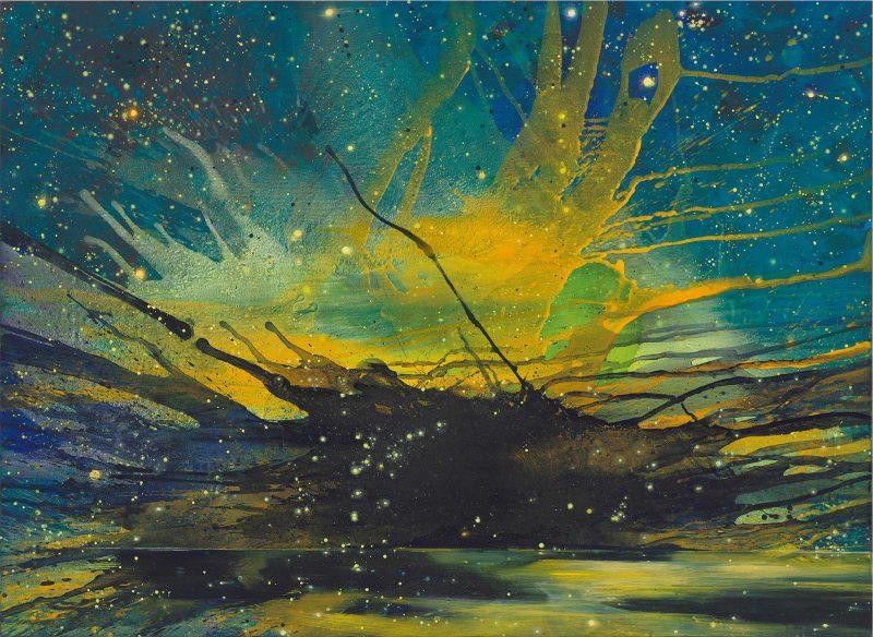 "Bernd Zimmers Oeuvre: ""Kristallwelt"""