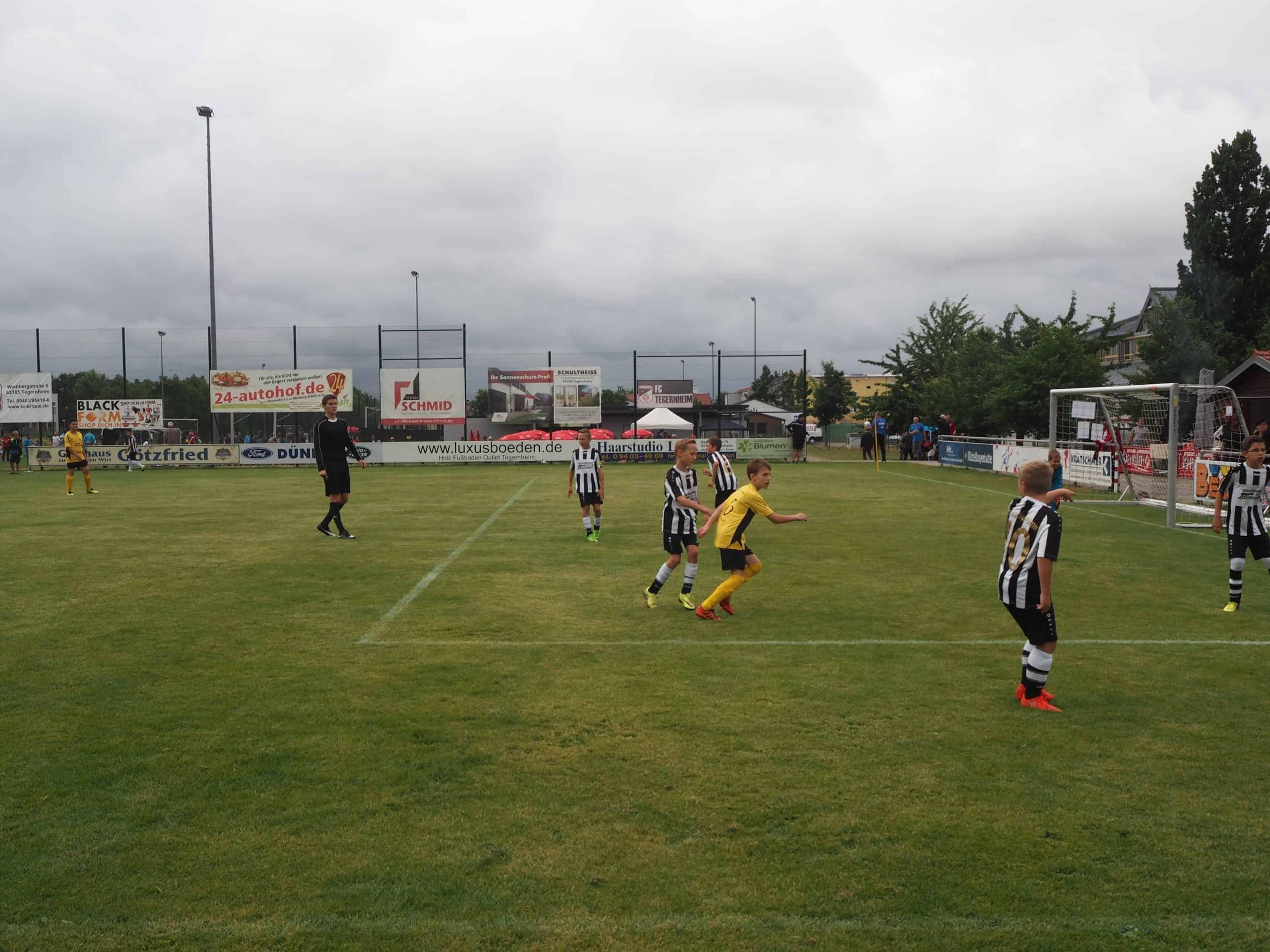 REWAG-Cup 2018 in Tegernheim am 1. Juli