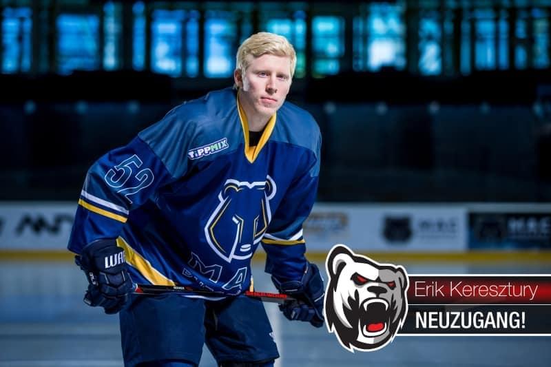 Erik Keresztury: Stürmer Nummer elf für die Eisbären