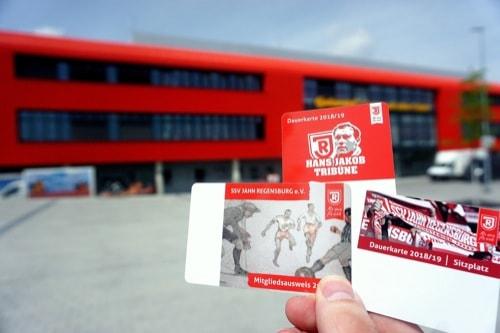 SSV Jahn Regensburg: Dauerkartenverkauf für Mitglieder startet am Dienstag