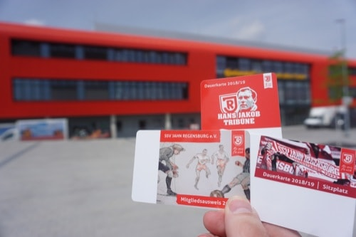 SSV Jahn Regensburg: Freier Dauerkartenverkauf startet am Dienstag