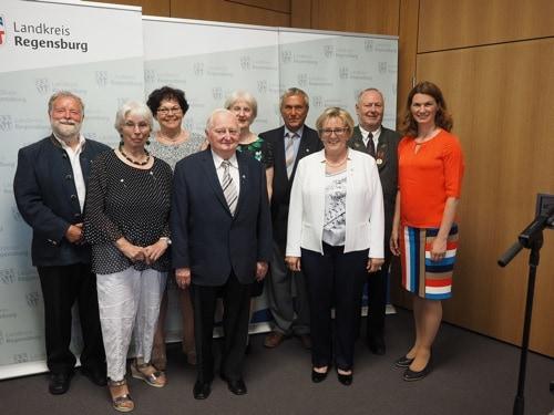 Landkreis Regensburg: Landrätin Tanja Schweiger würdigte herausragendes ehrenamtliches Engagement