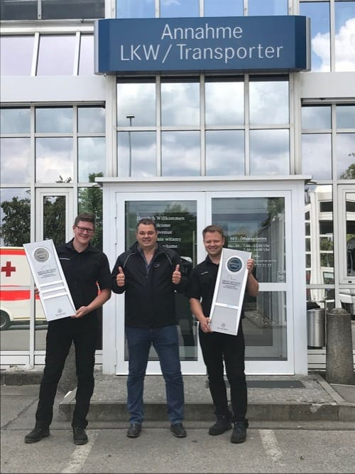 Top-Service: Auszeichnung für das Stern-Center Regensburg