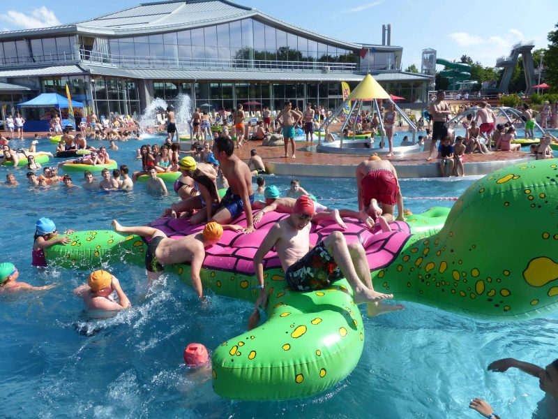 Pool-Party im Westbad am 16. Juni